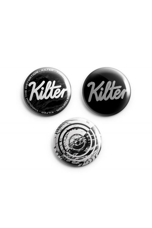 Badge Set (Set of 3) by Kilter