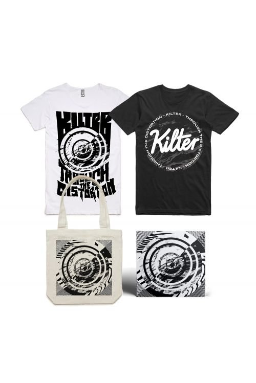 Signed CD, Tshirt & Tote Bundle (includes BONUS digital download)   by Kilter